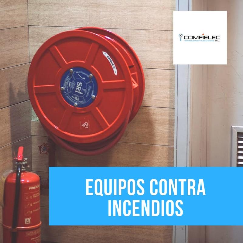 Extintores y equipos contra incendios