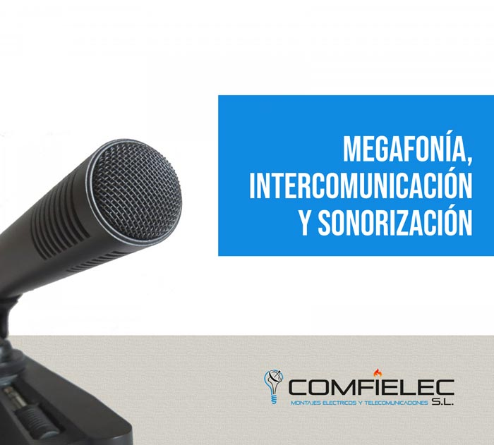 megafonía y sonorizacion almeria