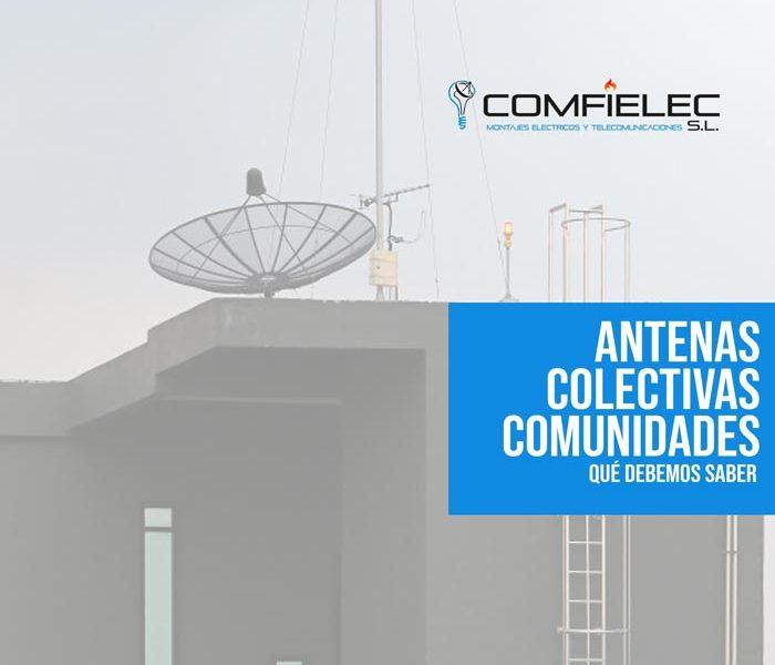 Antenas colectivas en comunidades