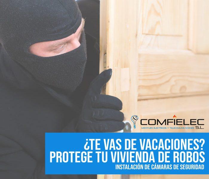 verano camaras de seguridad robo ladrones