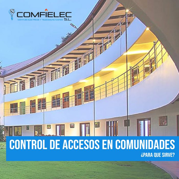 control de accesos comunidades de vecinos
