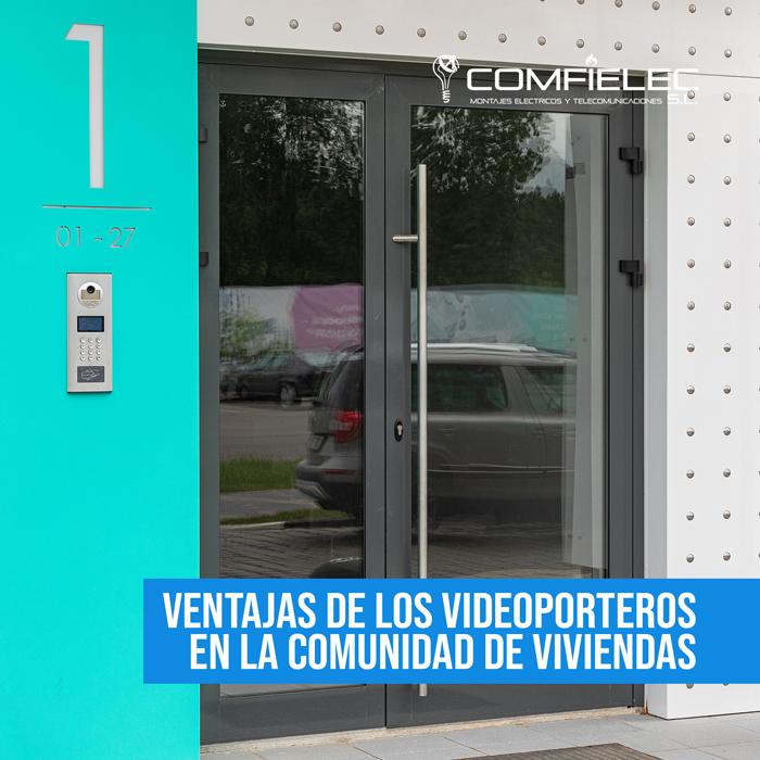 videoporteros comunidad viviendas