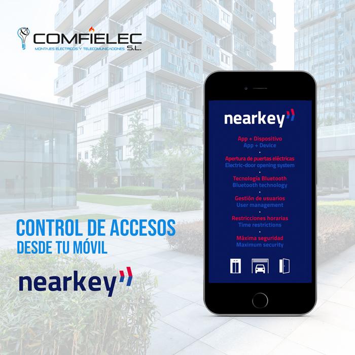 control de accesos nearkey